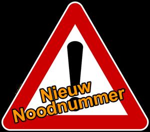 nieuw-noodnummer